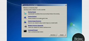 Back up and restore the Windows 7 registry