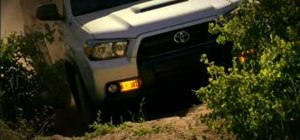 Use crawl control on the 2010 Toyota 4Runner