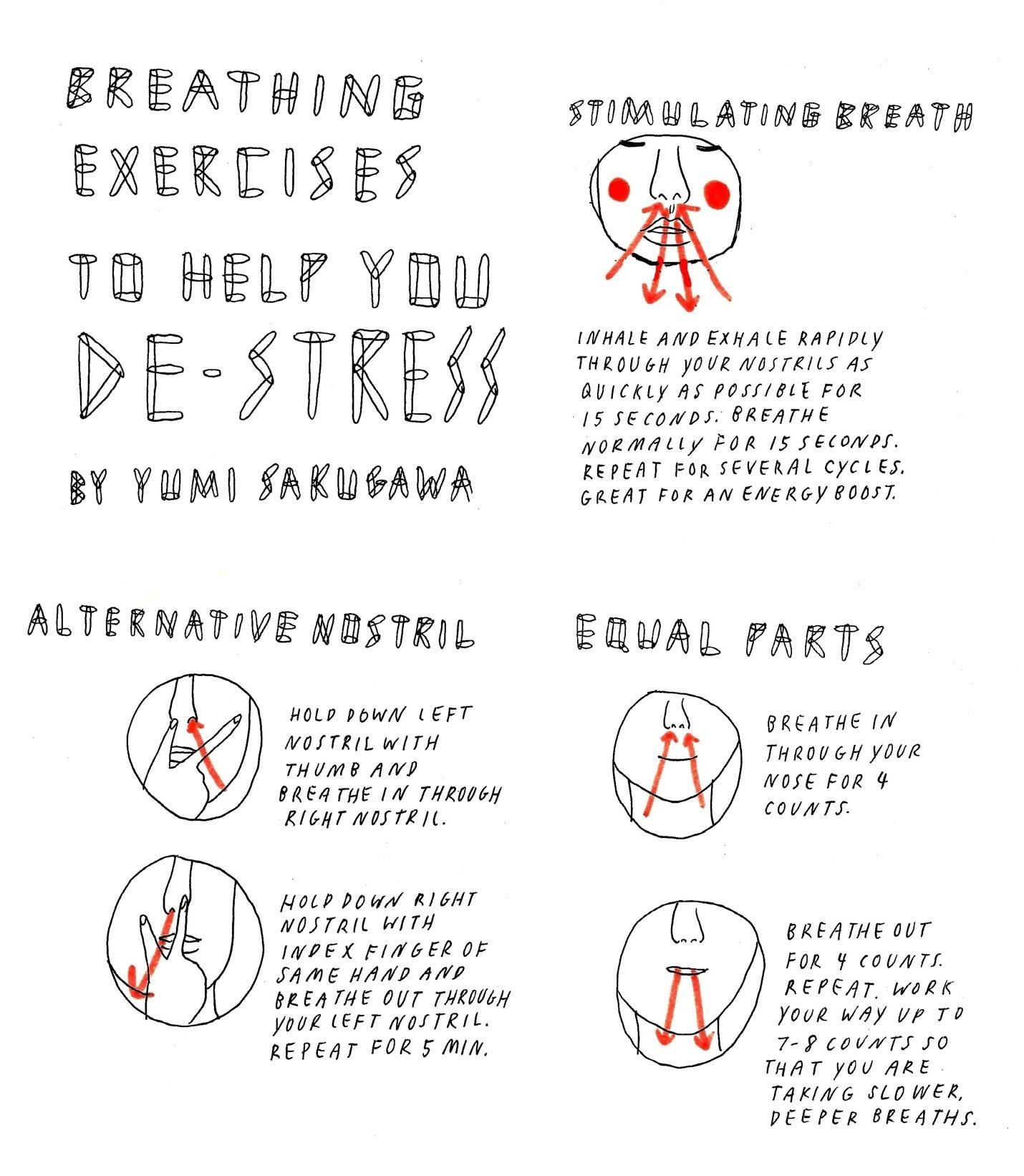 Breathing Exercises To Help You De Stress The Secret Yumiverse Wonderhowto