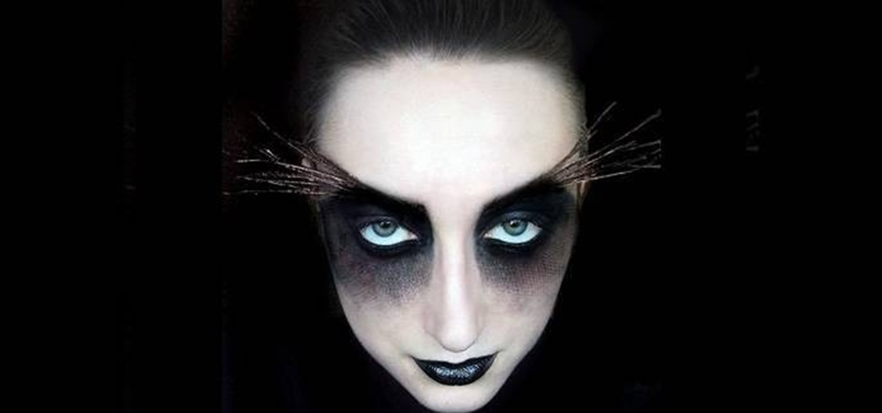 How to Create a freaky moth makeup look for Halloween « Makeup ...
