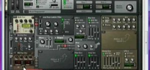 Produce a funky electro lead synth using Reason 4