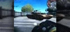 Use the anti-tank rockets in Battlefield 2