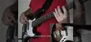 "Play ""Pretty Woman"" by Roy Orbison on the bass guitar"