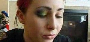 Create a multi-colored eye shadow look