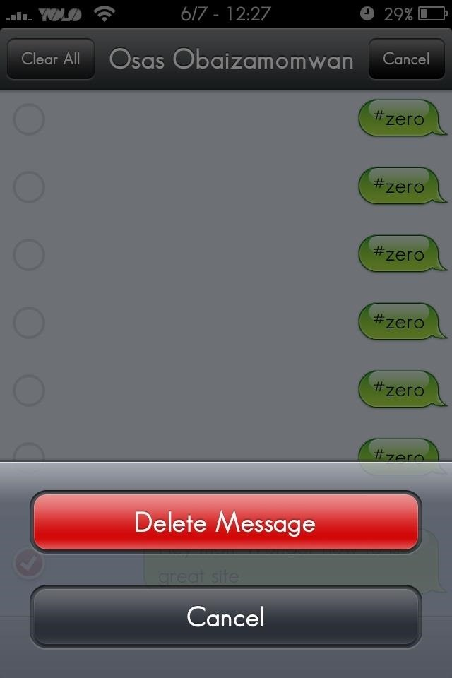 How to Permanently Delete Text Messages on Your iPhone � iOS ...