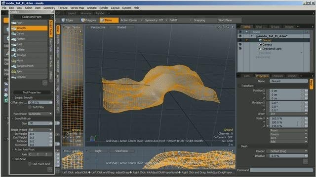 Create a complete underwater scene in Luxology Modo 401 - Part 1 of 3