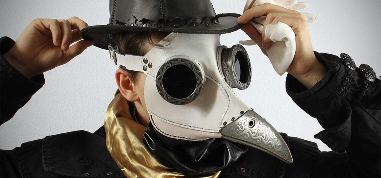 Steampunk Plague Doctor Hat