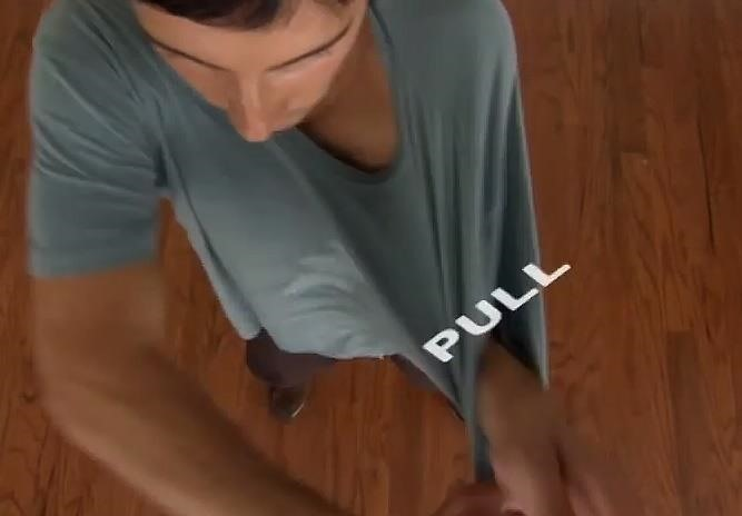 The Fastest Way to Take Your Shirt Off