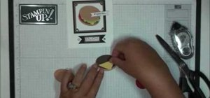 Create a plump hamburger greeting card