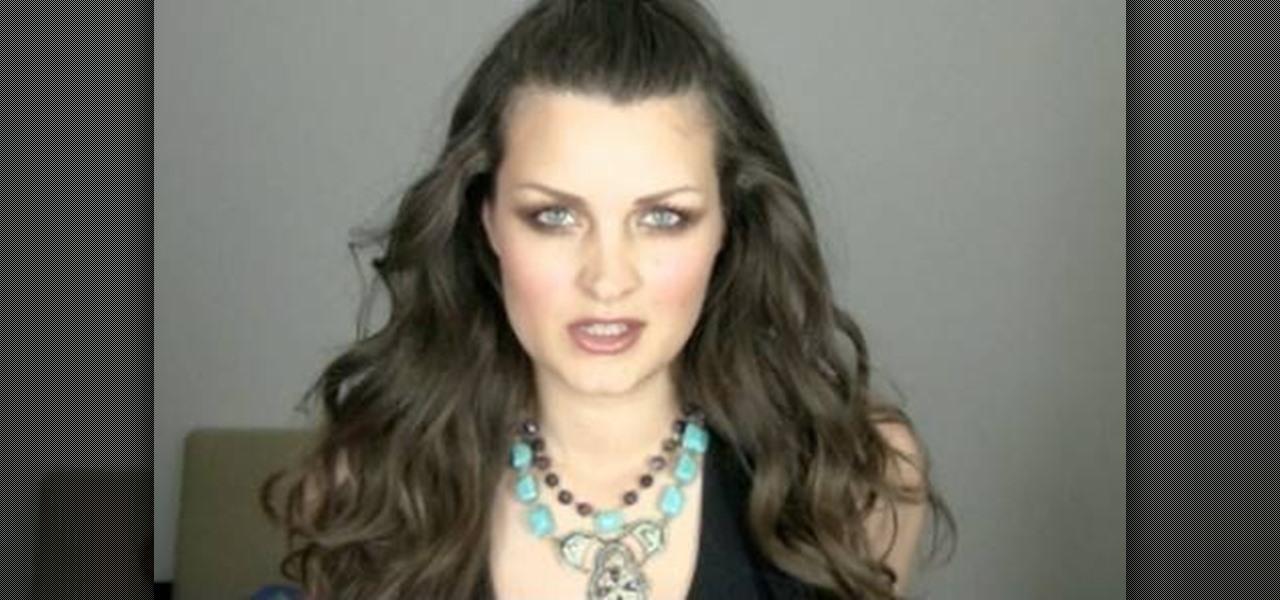 Green Eyes Makeup Evangeline