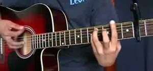 """Play """"One In A Million"""" by Hannah Montana on guitar"""