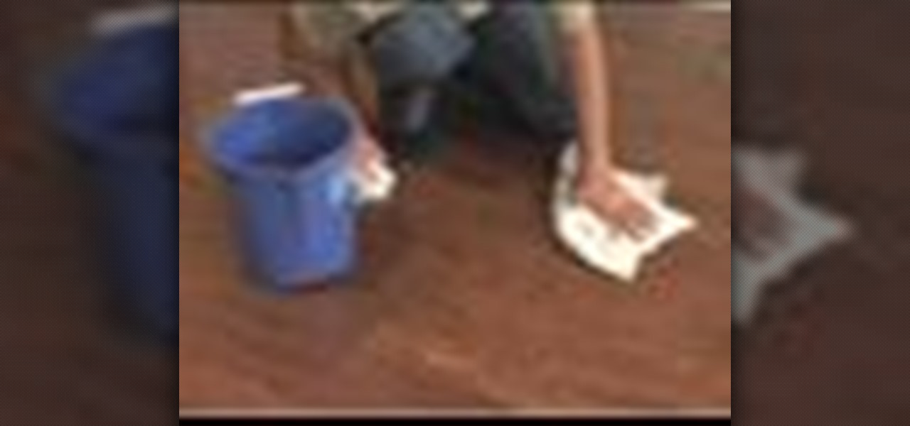 How To Care For A Hardwood Floor Housekeeping WonderHowTo