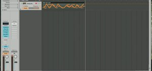 Record track automation in Logic Pro 8
