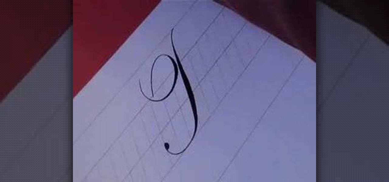 How To Write The Letter T In Calligraphy Copperplate