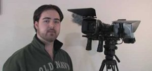 Build a pro-sumer Canon HV30 camera rig