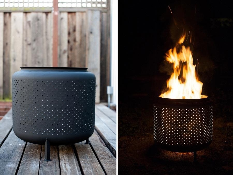 How to Turn an Old Washing Machine Drum into an Awesome Outdoor Fire Pit