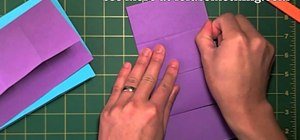 Create an origami infinite flipper with the cut & paste metod
