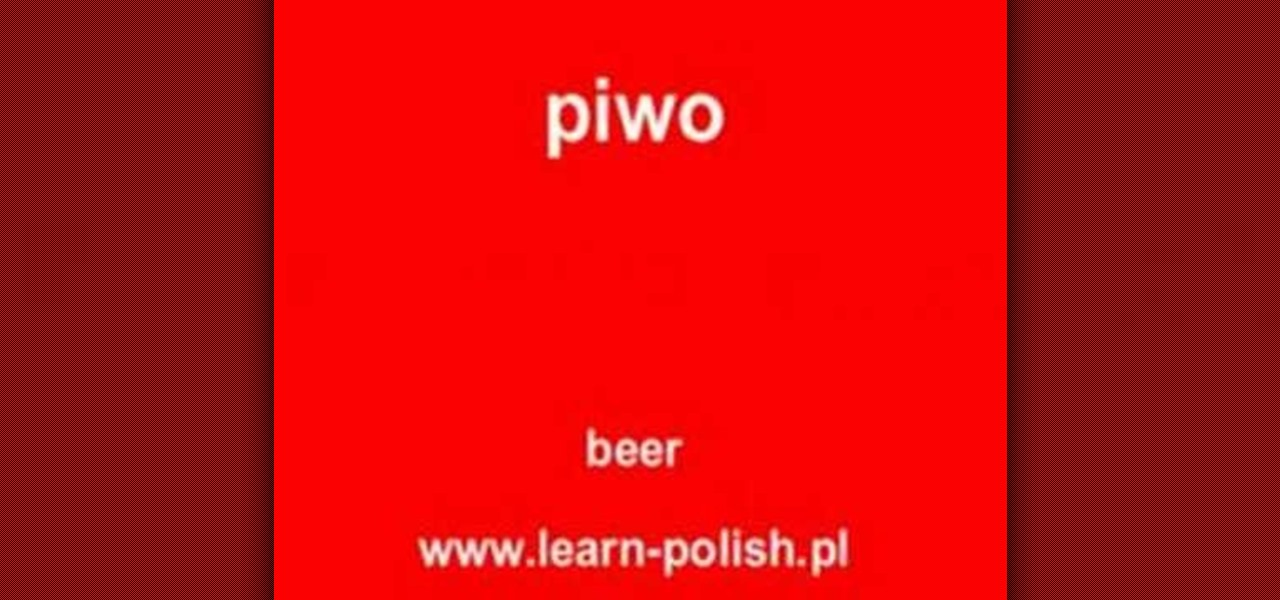 how to write in polish