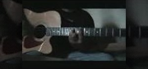 "Play ""Glow"" by Alien Ant Farm on your acoustic guitar"