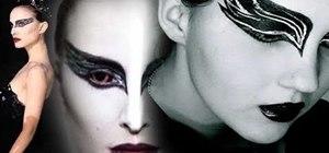 Recreate the vampish Black Swan makeup worn by Natalie Portman