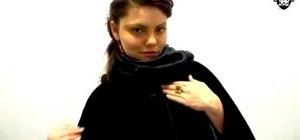 Make a Duchess inspired cloak with Threadbanger