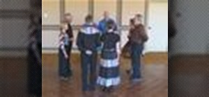 Square dance the Square Thru (2,3,4), Wheel Around