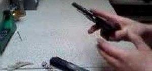 Field strip a Radom p-64 pistol