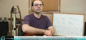 Incorporate jazz harmony in your guitar playing