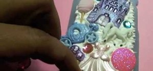 Create a Cinderella fairy tale cell phone case cover