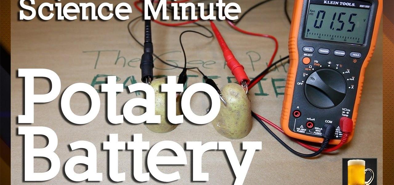 how to create a potato battery