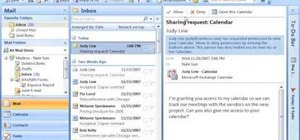 Share your calendar 3 ways with Outlook 2007