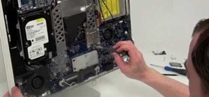 Remove the logic board from a G5 iMac