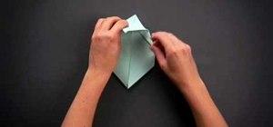 Fold an intermediate origami bunny rabbit