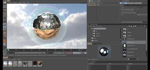 Create a miniature bubble world in MAXON Cinema 4D