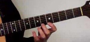 Perform finger gymnastics on acoustic guitar