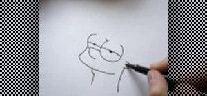 Draw Bart Simpson