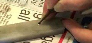 Sharpen your harmonica draw scraper