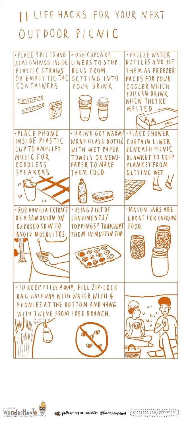 11 life hacks for your next outdoor picnic 171 the secret yumiverse