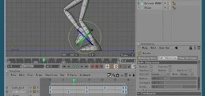 Create a simple walkcycle animation in MAXON Cinema 4D