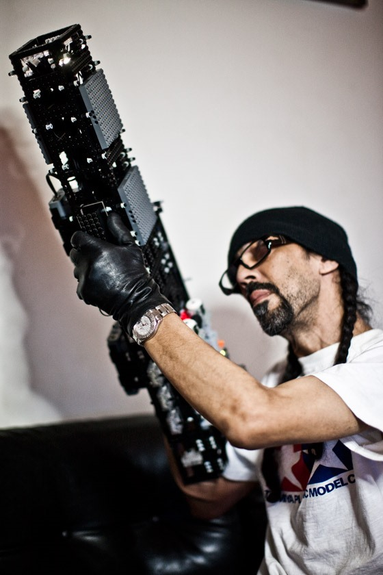 LEGO Assault Rifles by renowned artist FUTURA
