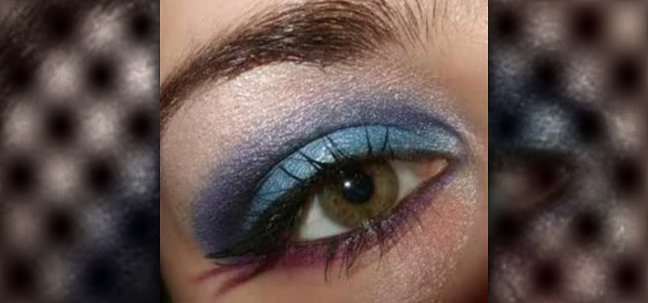 How To Create 80s Funky Rock Chick Goth Inspired Makeup Look