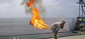 The Flaming Fart Jump