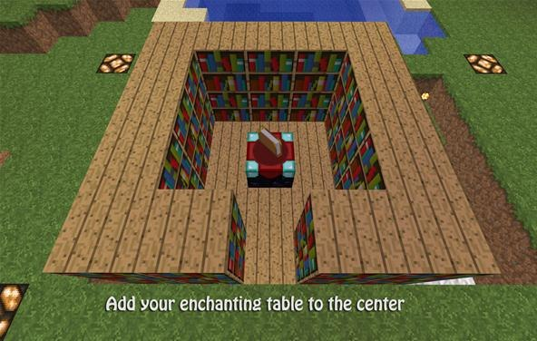 Minecraft Enchantment Table