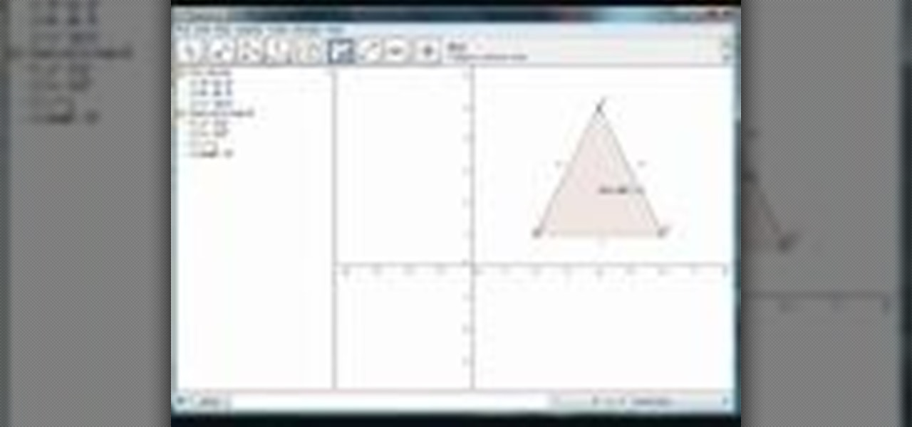 How to Work with polygons in GeoGebra math software