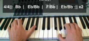 "Play ""This Is It"" by Michael Jackson on piano"