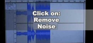 Remove noise from vinyl transfer mp3s using Audacity