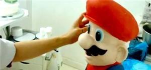 Master Cake Maker Sculpts Super Mario