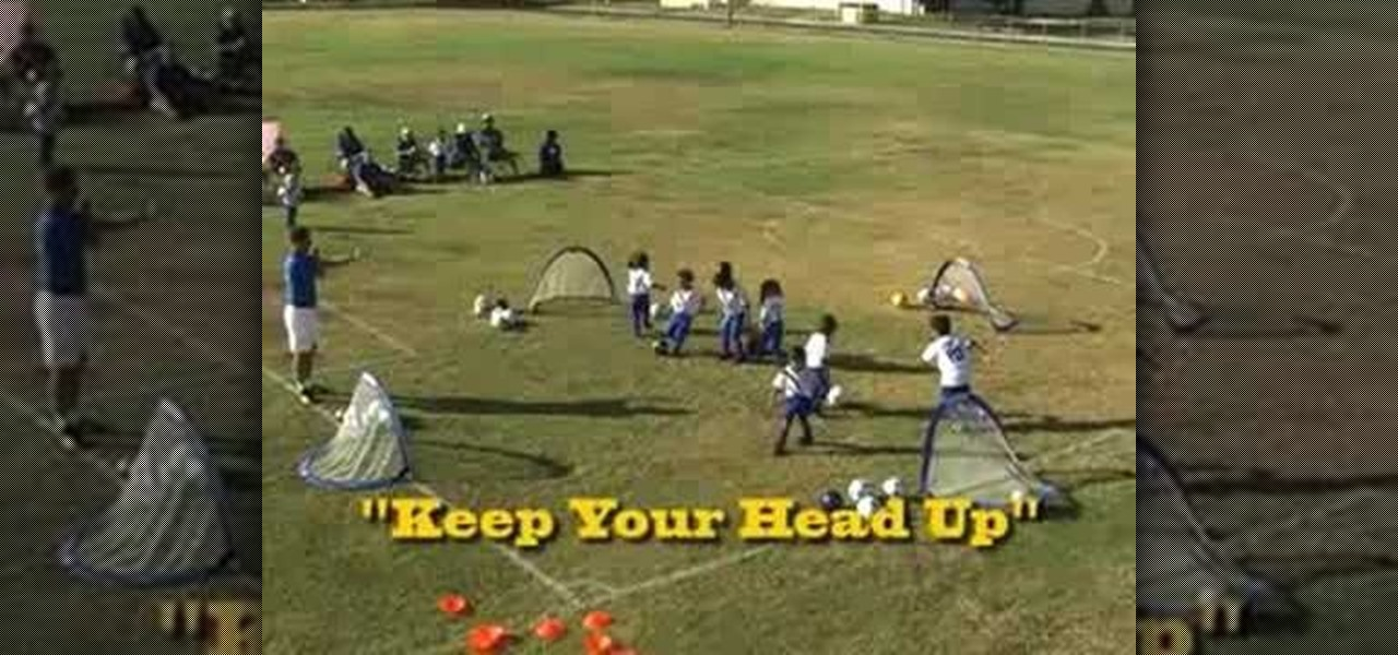 Soccer Ball Dribbling Drills to Dribble a Soccer Ball