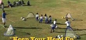 Teach kids how to dribble a soccer ball