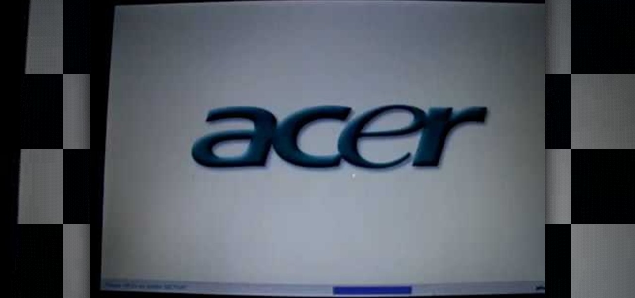How to Reformate your computer acer hard drive � Operating Systems